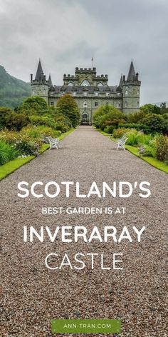 While touring Scotland, you must see the garden at the scenic Inveraray Castle. It's one of the best things to do in Scotland. Outside you'll learn its history, then enjoy walking trails, hunting, and camping outside. Add this Scotland travel destination to your bucket list today. #Scotlandsbestgarden #InverarayCastle #homeofScotland #ClanCampbell #mustseegarden #Scotlandtravel #Europe #UKtravel #travelguides #Europeanhistory #azaleagardens #daffodils #Scotlandgardens #bucketlist #anntran Travel Tours, Europe Travel Tips, New Travel, Travel Usa, Family Travel, Travel Destinations, Travel Info, West Coast Scotland, England And Scotland