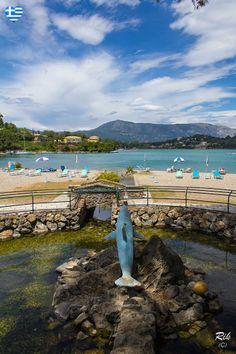 Gouvia Beach, Gouvia Corfu.