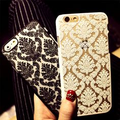 Phone Case for IPhone 6 6S New Arrivals Damask Vintage Flower Pattern Luxury Back Cover Cases for iphone 6 4.7 inch
