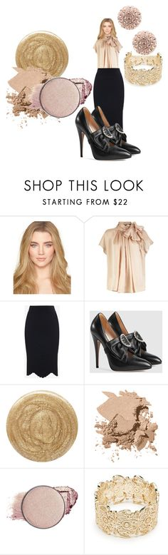"""""""If I had extremities I could put my spectacular shoes on"""" by feralkind ❤ liked on Polyvore featuring Alexander McQueen, Gucci, Burberry, Bobbi Brown Cosmetics, Dollup Beauty and Sole Society"""