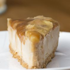 Caramelized Banana Peanut Butter Cheesecake