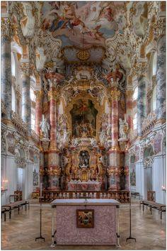 Wieskirche - Chorraum