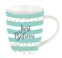 Just believe mug