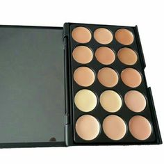 15 Color Contour Palette 1 New 15 color Contour pallete in medium to dark..See all items for sale we have the latest in fashion clothing, swimsuits, jewelry, sunglasses, makeup and more! Follow us to stay with the latest fashions daily!  Flawless Fashions Day Dreams Cosmetics Makeup Concealer