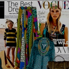 $248.... Zahara bib on the pages of Vogue! www.stelladot.com/annamuir