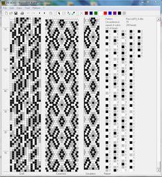 Узоры для вязаных жгутиков-шнуриков 7 | biser.info - всё о бисере и бисерном творчестве