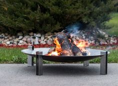Personalised Etna Steel Fire Pit by Arpe Studio UK, the perfect gift for Explore more unique gifts in our curated marketplace. Chiminea Fire Pit, Diy Gas Fire Pit, Steel Fire Pit, Wood Burning Fire Pit, Fire Pit Backyard, Backyard Patio, Fire Pits, Welded Metal Projects, Outdoor Fireplace Designs