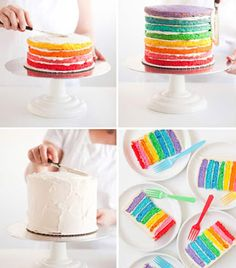 Patipin's: Rainbow Cake