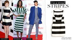 Earn your fashion stripes like these red-carpet regulars!