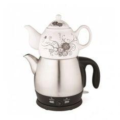 King P 315 Lea Porselen Çay Makinesi & Kettle