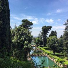 Villa d'Este .... #garden #travelswithab #villadeste