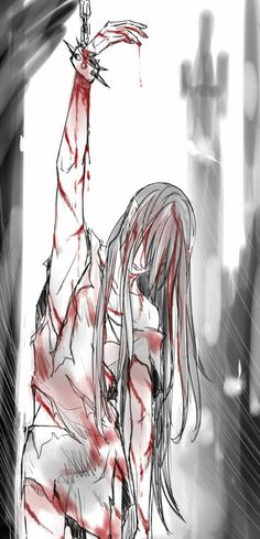 The torment of Maedhros.
