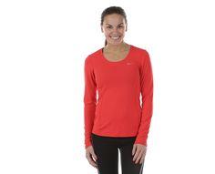 Nike - Contour Long Sleeve | | Orange | Sportamore.no 299,-