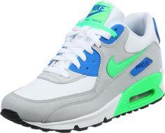 Nike Air Max 1 Youth Gs Schoenen Wit Grijs Groen