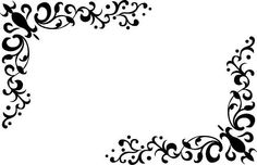 無料ベクトル素材 飾り罫・飾り枠・コーナー・フレーム・クリップアート(商用可・EPS・WMF) - Free-Style
