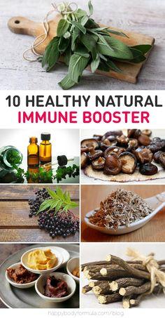 10 Natural Immune Boosters!