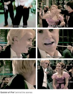 HP - Behind the scenes - Tom Felton