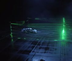 Here's Ken Block Doing LASER DONUTS! Click to watch the video...