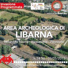 Invasioni digitali: Libabarna, una città romana! 3 maggio ore 14.30 #invasionialibarna #invasioninelnovese #invasionidigitali