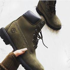 botas verdes militar