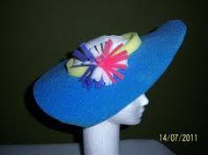 como hacer sombreros de goma espuma para cotillon - Buscar con Google 0ff10a08d85