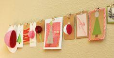 We're loving DIY Gift Tag Inspiration!