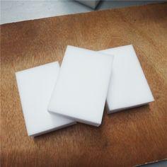 100PCS/lots 10*6*2cm New White Magic Nano Sponge Eraser Melamine Cleaner Multi-Functional Kitchen Bathroom Cleaning Tools