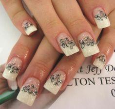designer finger nail designs | Beauty Fitness: November 2011