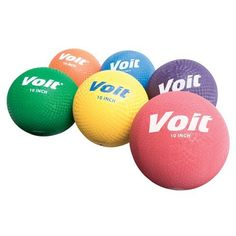 """Voit® 10"""" Playground Balls Color Red Sold Per EACH by Voit, http://www.amazon.com/dp/B004XJEUK0/ref=cm_sw_r_pi_dp_ntFsqb15FKFKF 