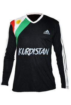 Kurdistan Shirt Long Sleeve Black – Kurdish Webshop | Free Kurdish bracelets with this Kurdistan shirt