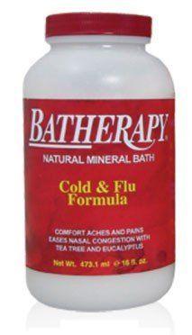 Batherapy Cold & Flu Mineral Bath Salts, 1 lb, Queen Helene by Queen Helene. $13.88. Cold & Flu Batherapy Salts