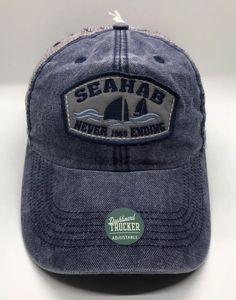 c7255d1df8b77 Seahab Never Ending 1969 Cap Hat Snapback Trucker Mesh Legacy New.