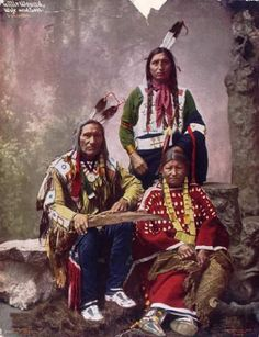 """Impressive portraits of chiefs and leaders of the Sioux Native American tribe . Among the numerous Native American nations that have lived on the Great Plains were the Sioux. The name """"Sioux"""" means """"little snakes."""" They occupied the Native American Pictures, Native American Beauty, American Indian Art, Native American Tribes, Native American History, American Indians, American Women, Arte Plumaria, Native American Photography"""