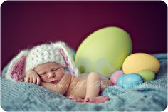 Baby Picture Easter babies photography, infant photos, babi pictur, photography blogs, newborn baby photos, easter eggs, easter bunny, easter ideas, newborn baby pictures