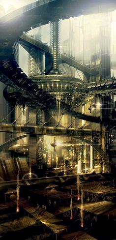 Cyberpunk Cities