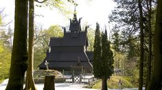 Bergen - Fantoft Stave Church
