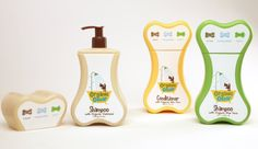 Organic oscar / pet grooming products - cute packaging!