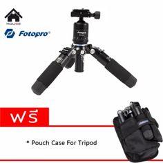 จัดส่งฟรี  Fotopro M-5 Mini  ราคาเพียง  2,600 บาท  เท่านั้น คุณสมบัติ มีดังนี้ 5 sections: yes Type of product: mini tripod Product material: aluminium Minimum height: 120 mm Maximum height: 410 mm Closed: 15 cm Compatibility: camera