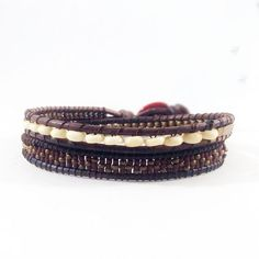Shop online Pintor de Gala: Brazaletes y Collares de cuero y piedras naturales