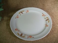 "I added ""Superior Hall  6"" Bread Plate "" to an #inlinkz linkup!http://www.avintageaddiction.com/store/p803/Superior_Hall__6%22_Bread_and_Butter_or_Dessert_Plate_Jewel_Tea_China_Mary_Dunbar_Autumn_Leaf_Pattern_Accessory_Dish_Replacement_Tableware_from_A_Vintage_Addiction.html"