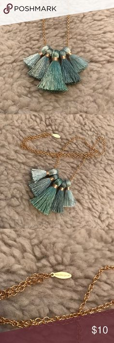 Miss Ivy Pearl - Five Tassle Necklace Miss Ivy Pearl - Five Tassle Necklace Miss Ivy Pearl Jewelry Necklaces