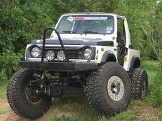 Suzuki samurai cool front bumper