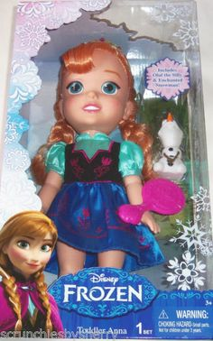 Disney's Frozen Elsa and Anna Collection by scrunchiesbysherry @eBay