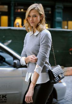 "prada-casting: """" Karlie Kloss visiting Taylor - December 11th, 2014 "" The woman being perfect """