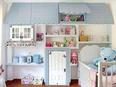 Интерьер детской комнаты с любовью к деталям