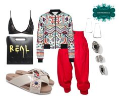 """""""Untitled #645"""" by d3finedimage on Polyvore featuring Yves Saint Laurent, Fendi, Alice + Olivia and Gucci"""