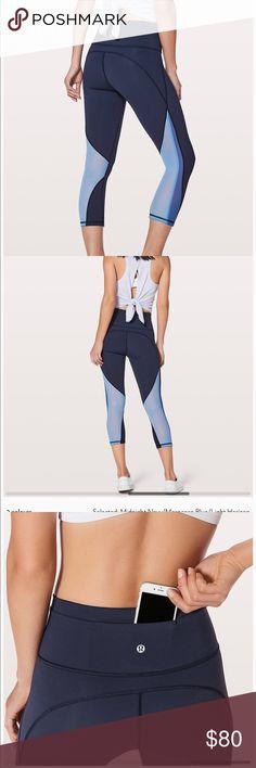 I just added this listing on Poshmark: NWT Lululemon Mesh Crop. #shopmycloset #poshmark #fashion #shopping #style #forsale #lululemon athletica #Pants