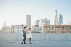 Engagement Locations (Downtown LA Rooftop)