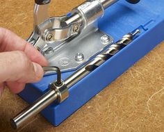 """Kreg Tool Tip: Don't confuse a Kreg drill bit """"step"""" with its tip. Knowing the difference will help you get precise pocket-hole depth."""