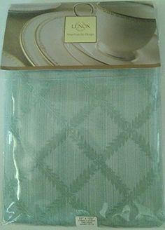 Lenox Laurel Leaf Mint Tablecloth - 70 x 122 inches Oblon... https://www.amazon.com/dp/B01E5PYLI2/ref=cm_sw_r_pi_dp_2wpKxb9E9X04P